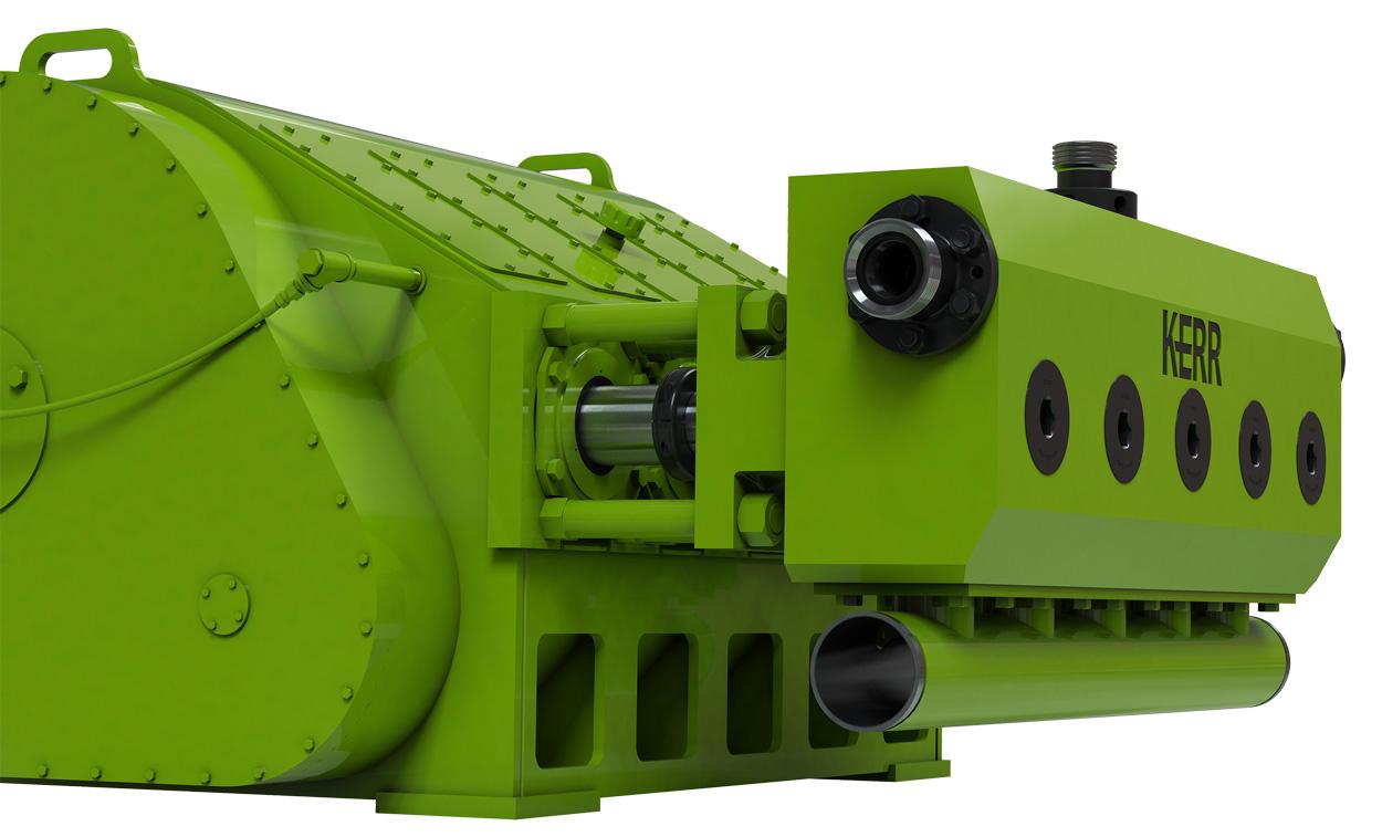 Kerr Pumps | Quintuplex Frac Pump - QWS2500HD